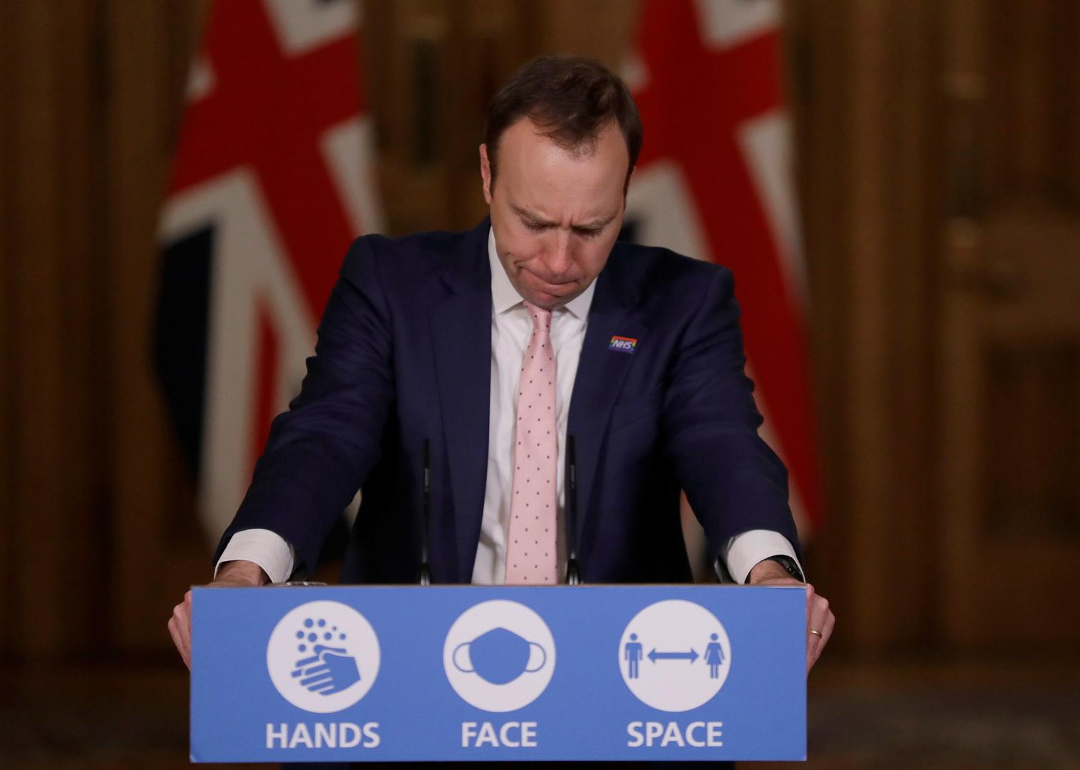 بريطانيا: سلالة كورونا الجديدة تشكل ضغطا بالغا ونحن في أسوأ نقطة للجائحة
