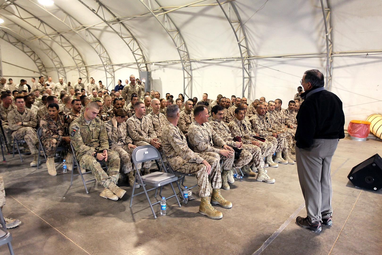 الخارجية الروسية تعلق على سحب واشنطن قواتها من أفغانستان