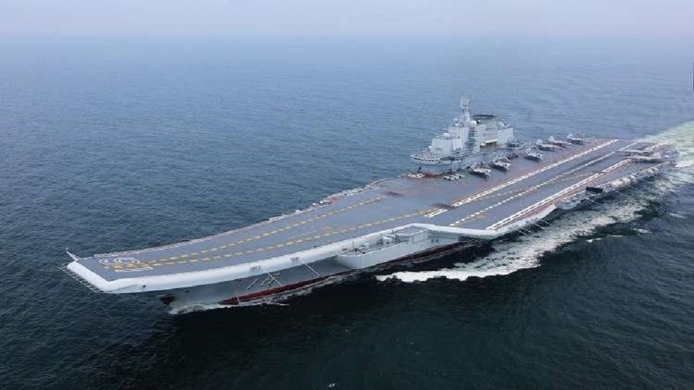 China is building the largest aircraft carrier in the world