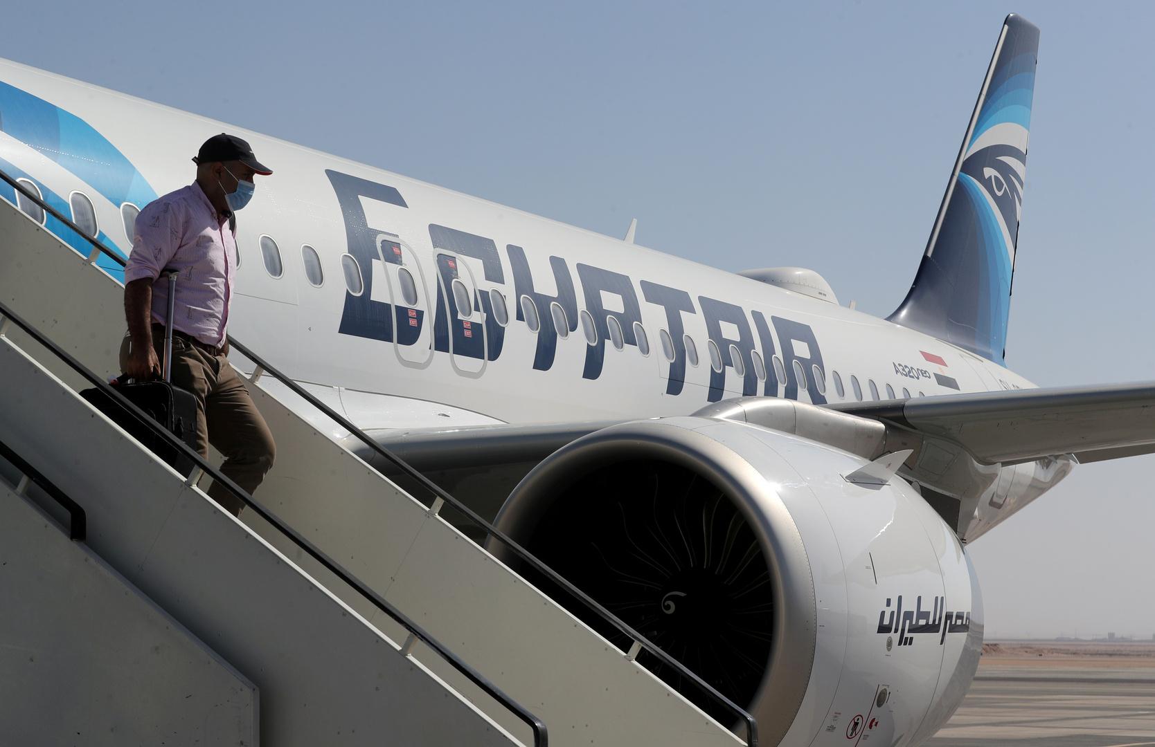 مصر للطيران تصدر بيانا حول الرحلات إلى قطر