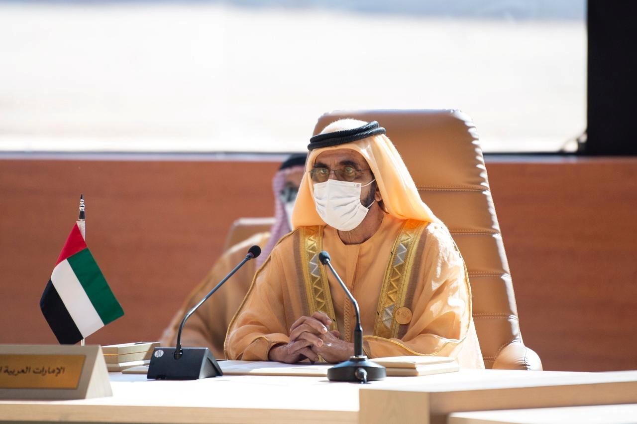 بن راشد: الإمارات الثانية عالميا في سباق التطعيم ضد كورونا