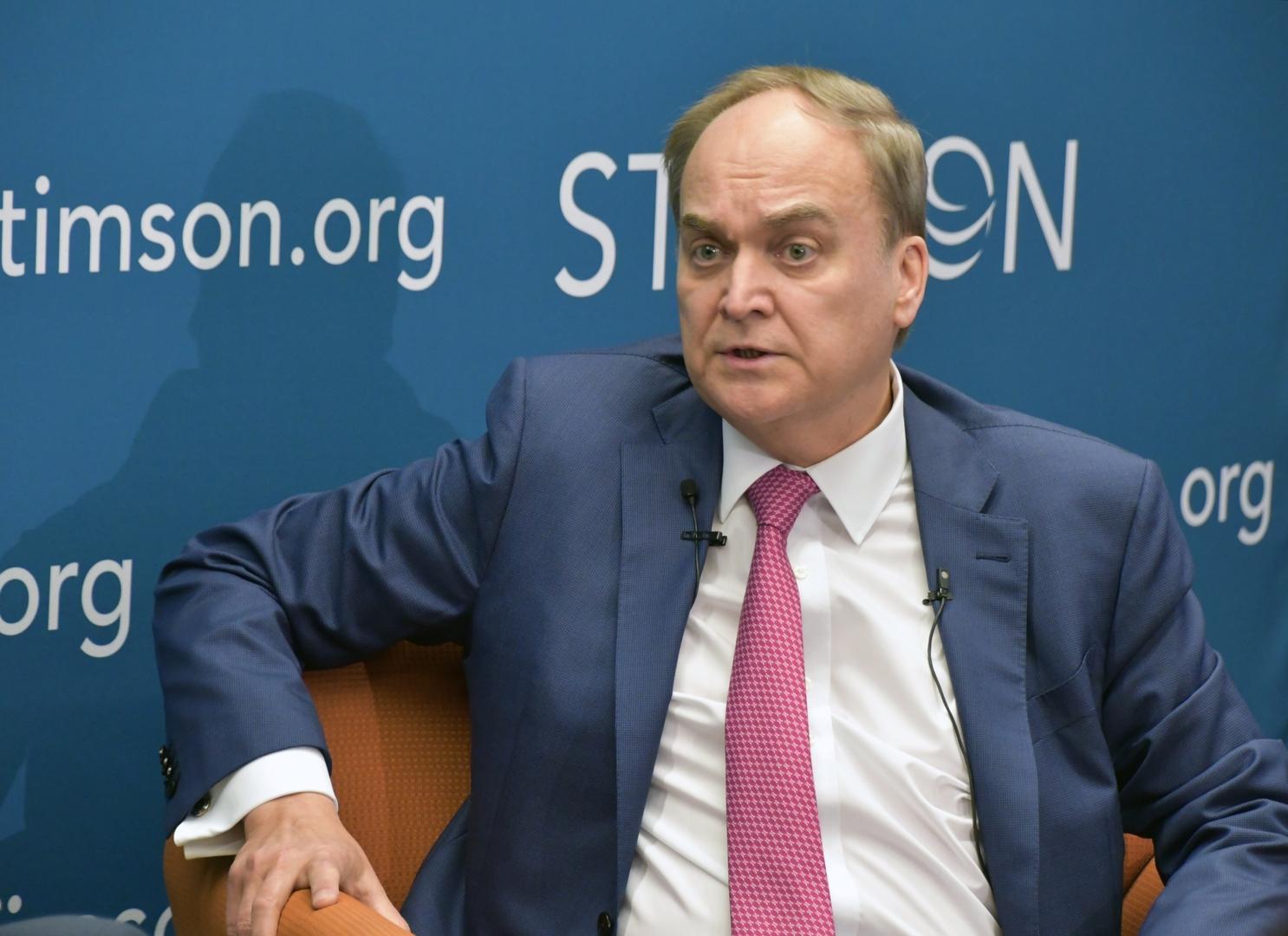 السفير الروسي في واشنطن، أناتولي أنطونوف