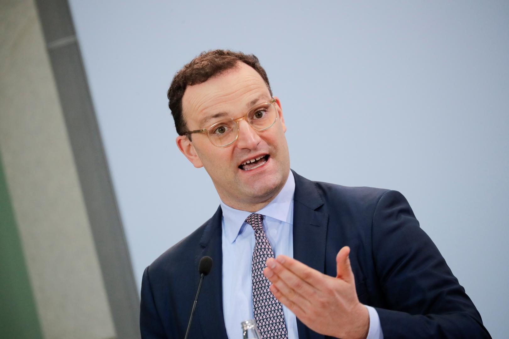 وزير الصحة الألماني، ينس سبان