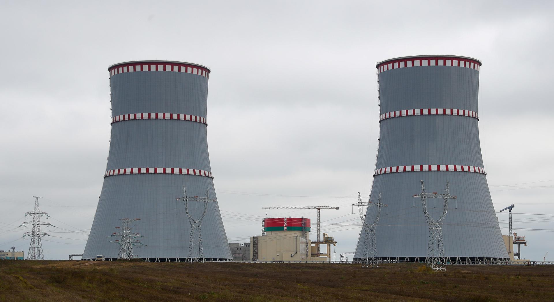 بدء تشغيل الوحدة الأولى في أول محطة نووية في بيلاروس بطاقة 100%
