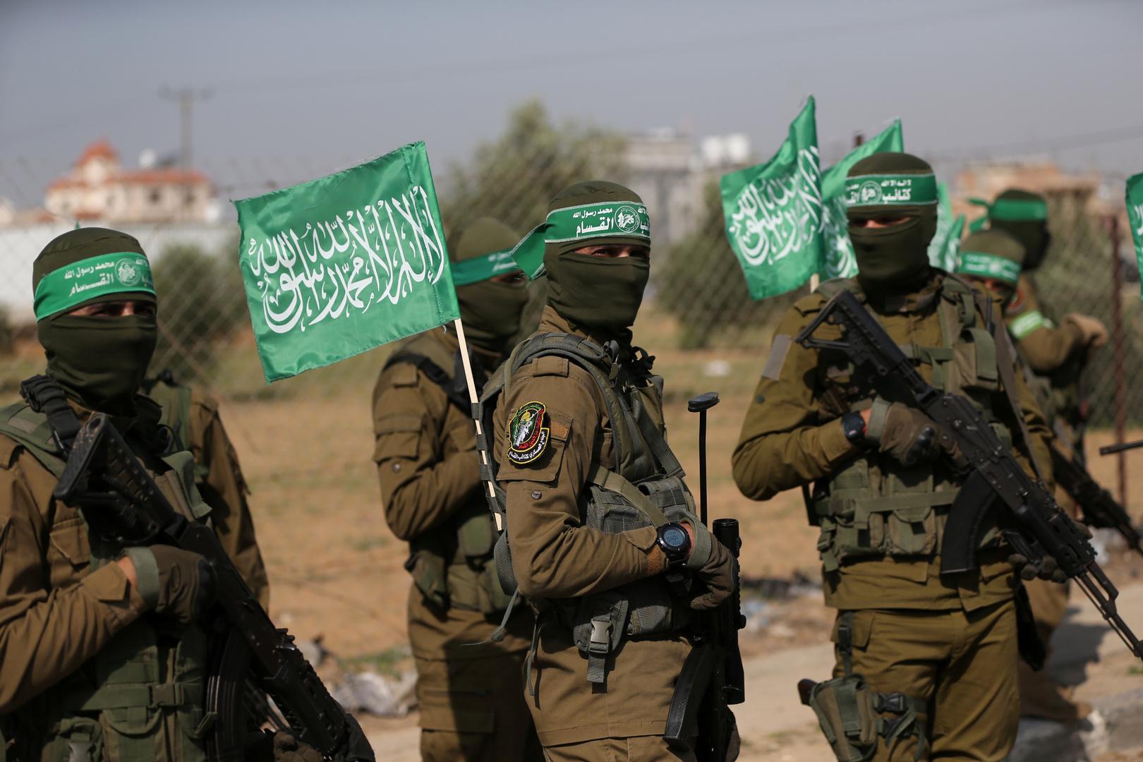 عناصر من حركة حماس