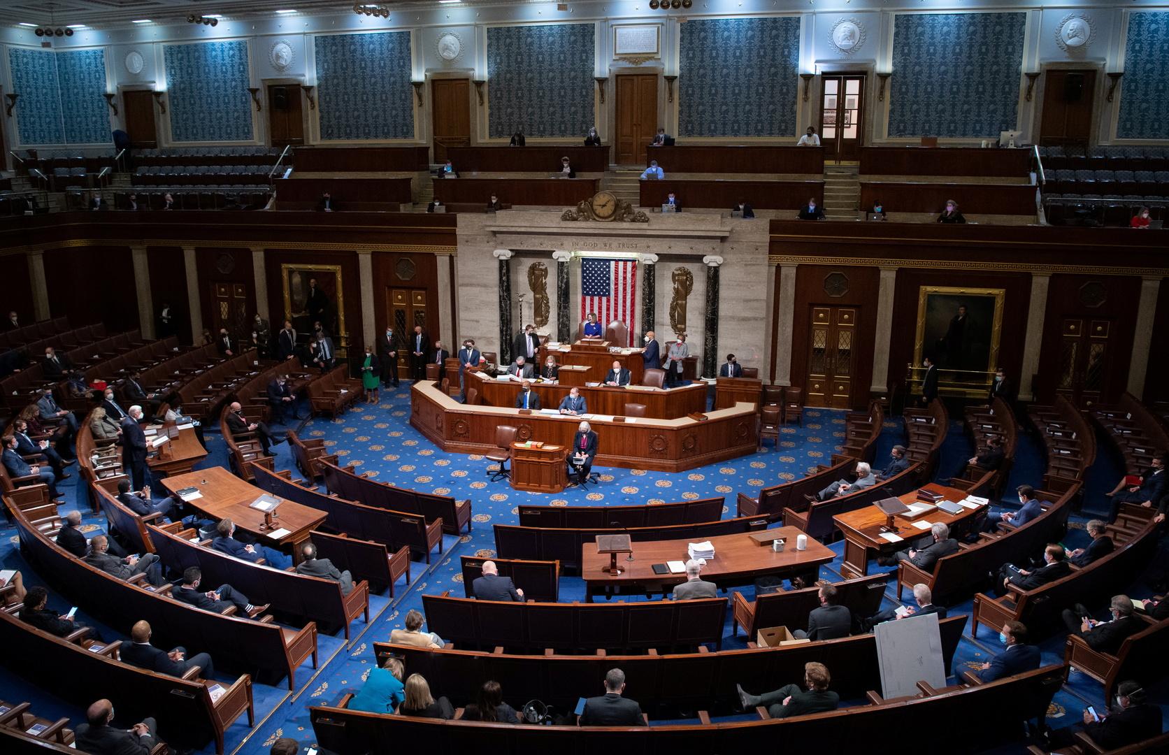 مجلس النواب الأمريكي يصوت لمصلحة المضي قدما في مناقشة عزل ترامب