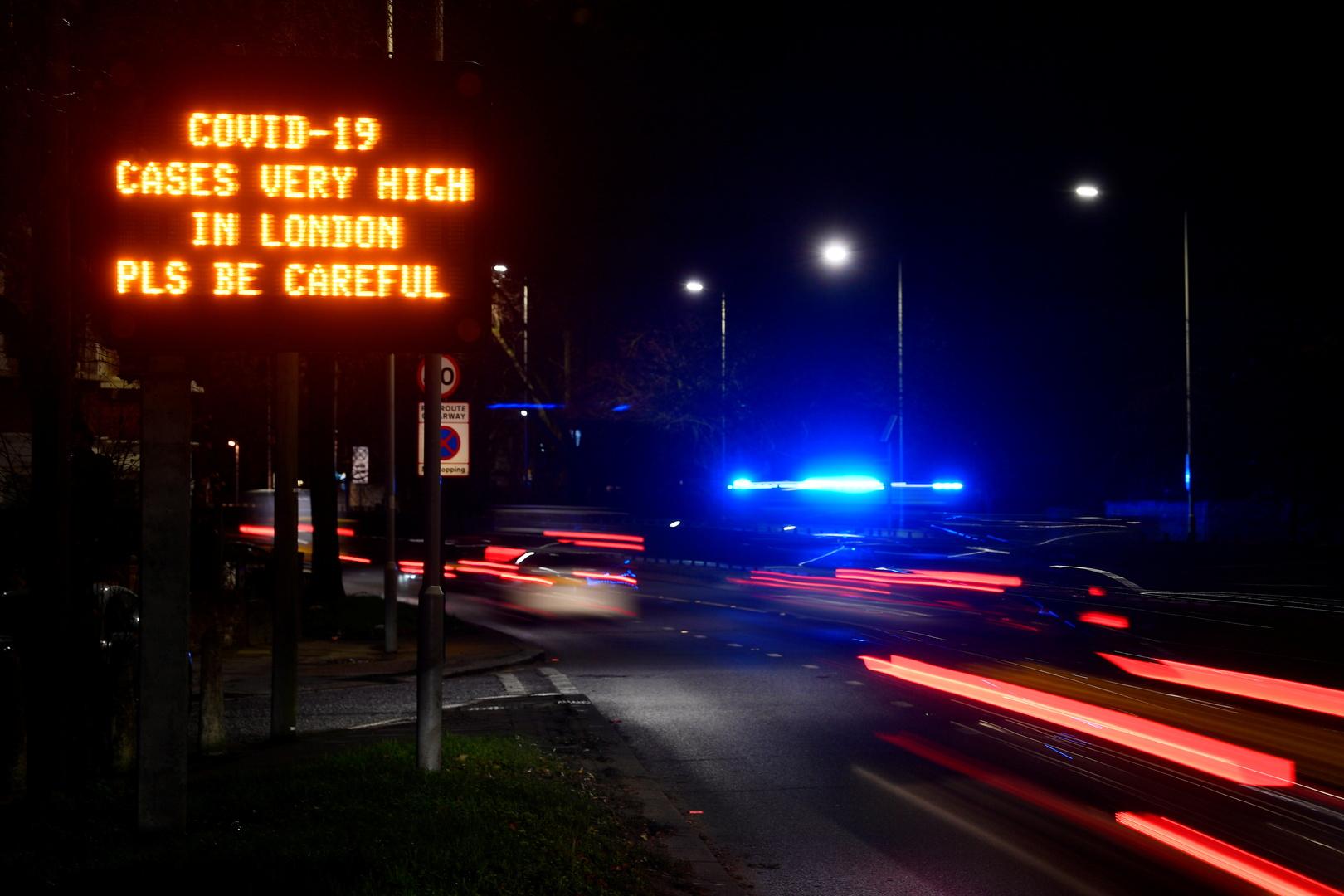 عمدة لندن يدعو لتشديد القيود بعد وفاة أكثر من 10 آلاف من سكان المدينة بكورونا