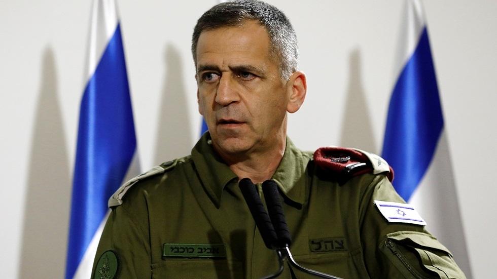 رئيس الأركان العامة للجيش الإسرائيلي افيف كوخافي (صورة أرشيفية)