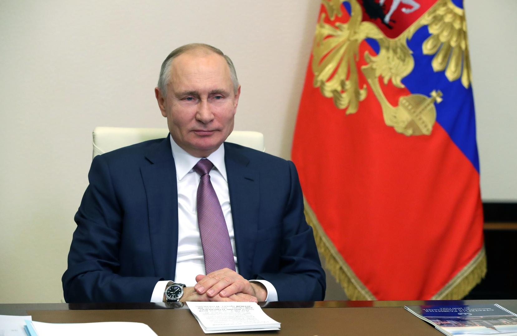 صورة من الأرشيف - الرئيس الروسي فلاديمير بوتين