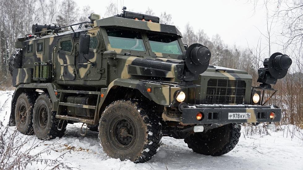عربة باترول المصفحة العسكرية الروسية