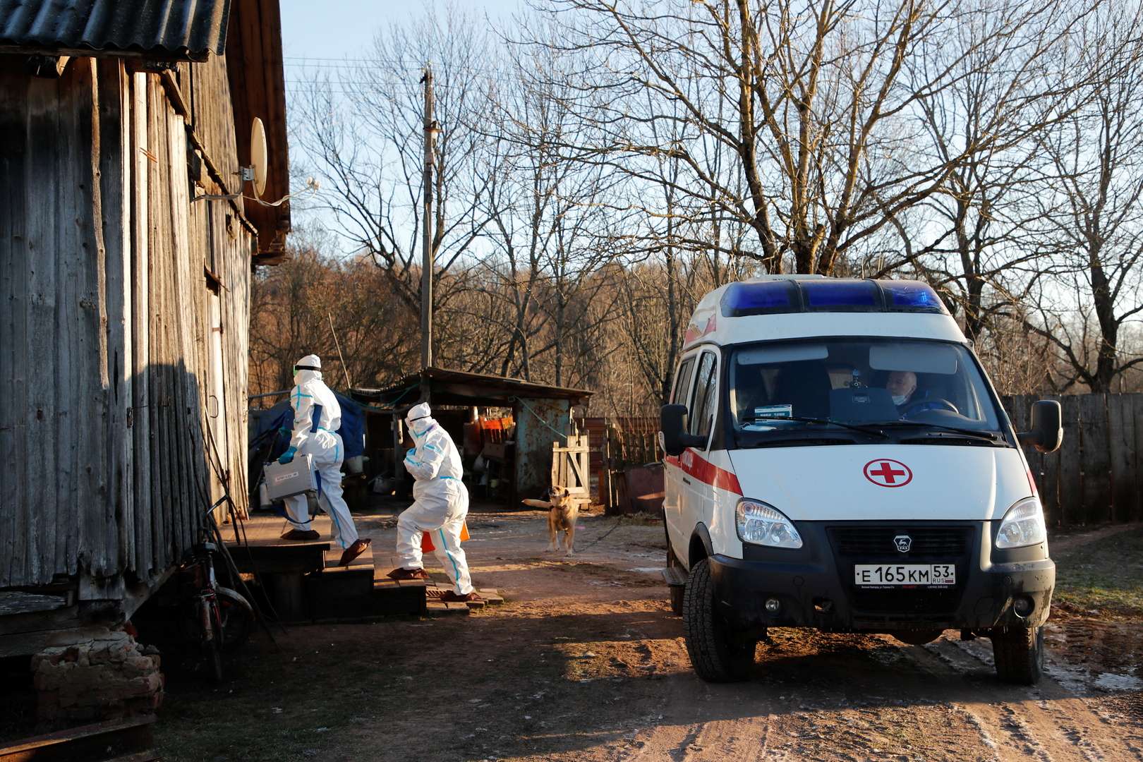 إصابات كورونا الجديدة في روسيا عند أعلى مستوى منذ نحو أسبوعين