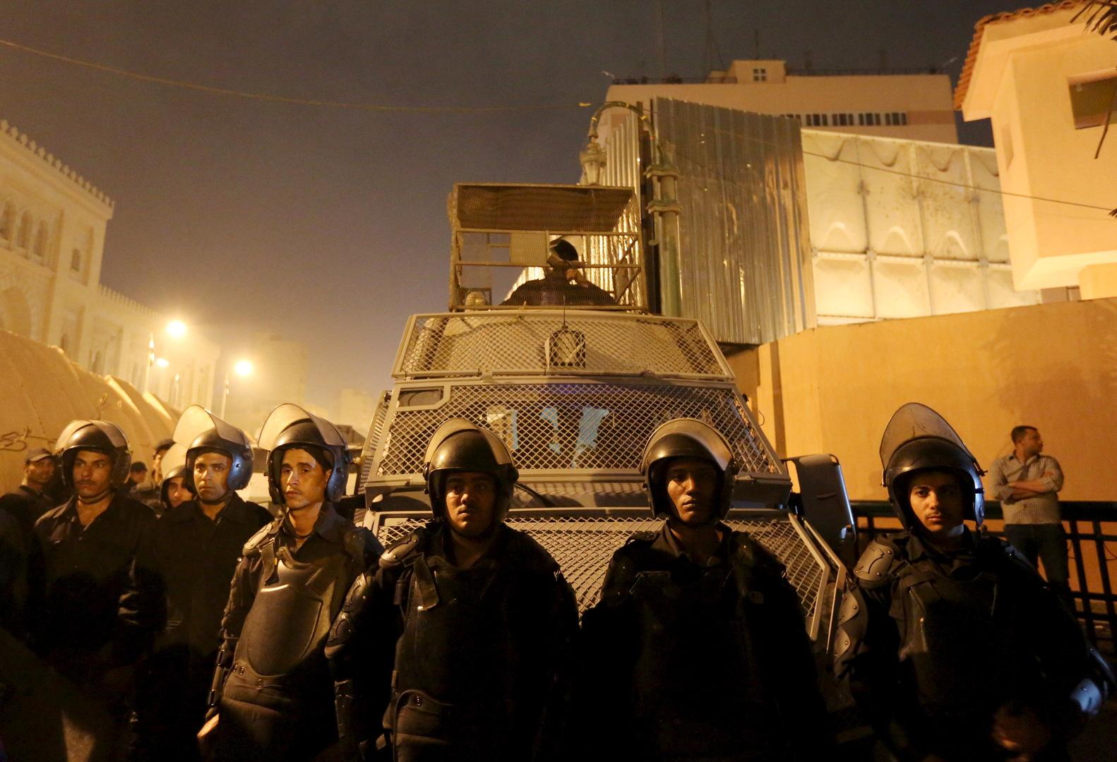 كاميرات المراقبة تكشف وجوه محكومين بالإعدام الهاربين من سجن شديد الحراسة في مصر