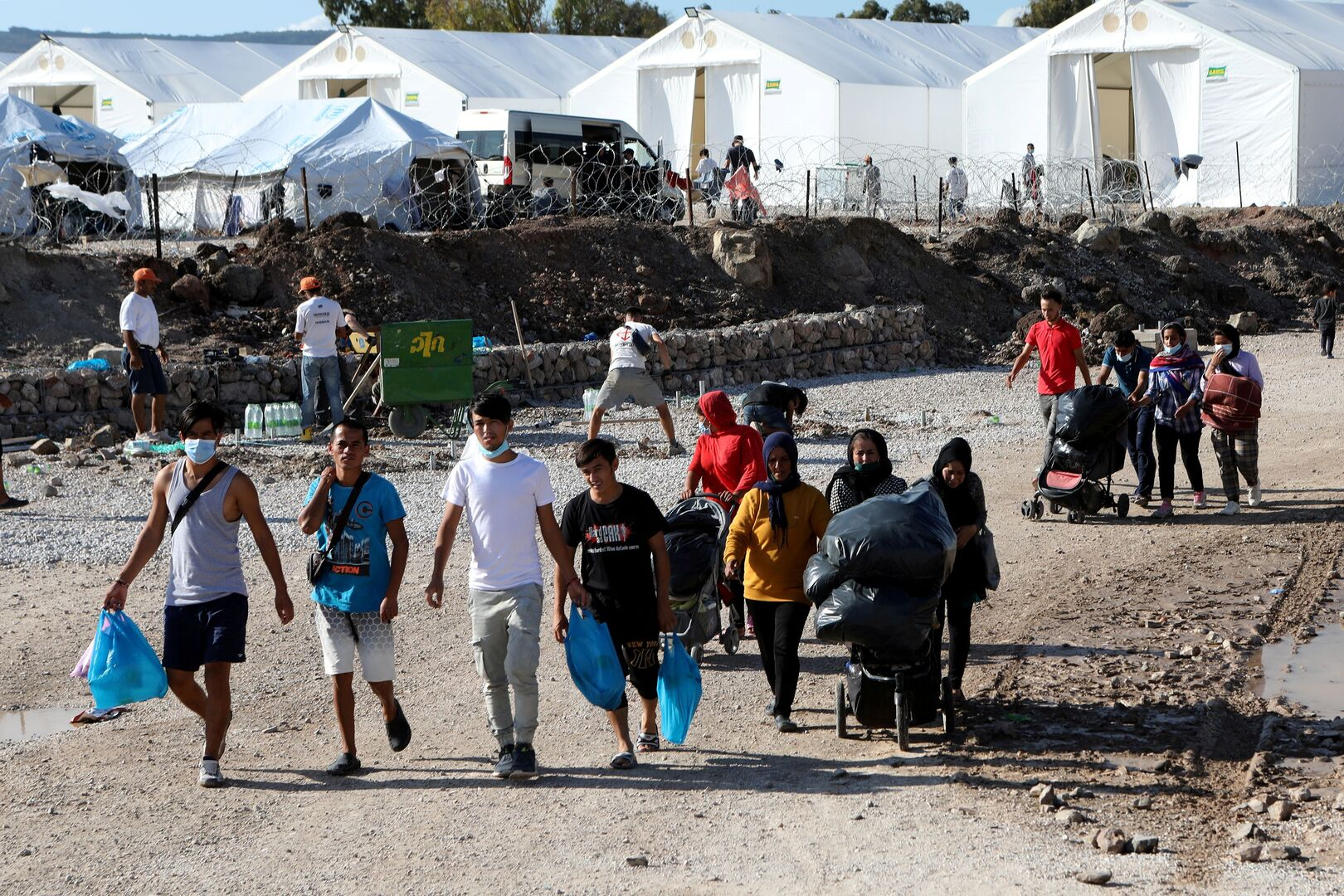 The number of asylum seekers in Europe drops to its lowest level in 12 years