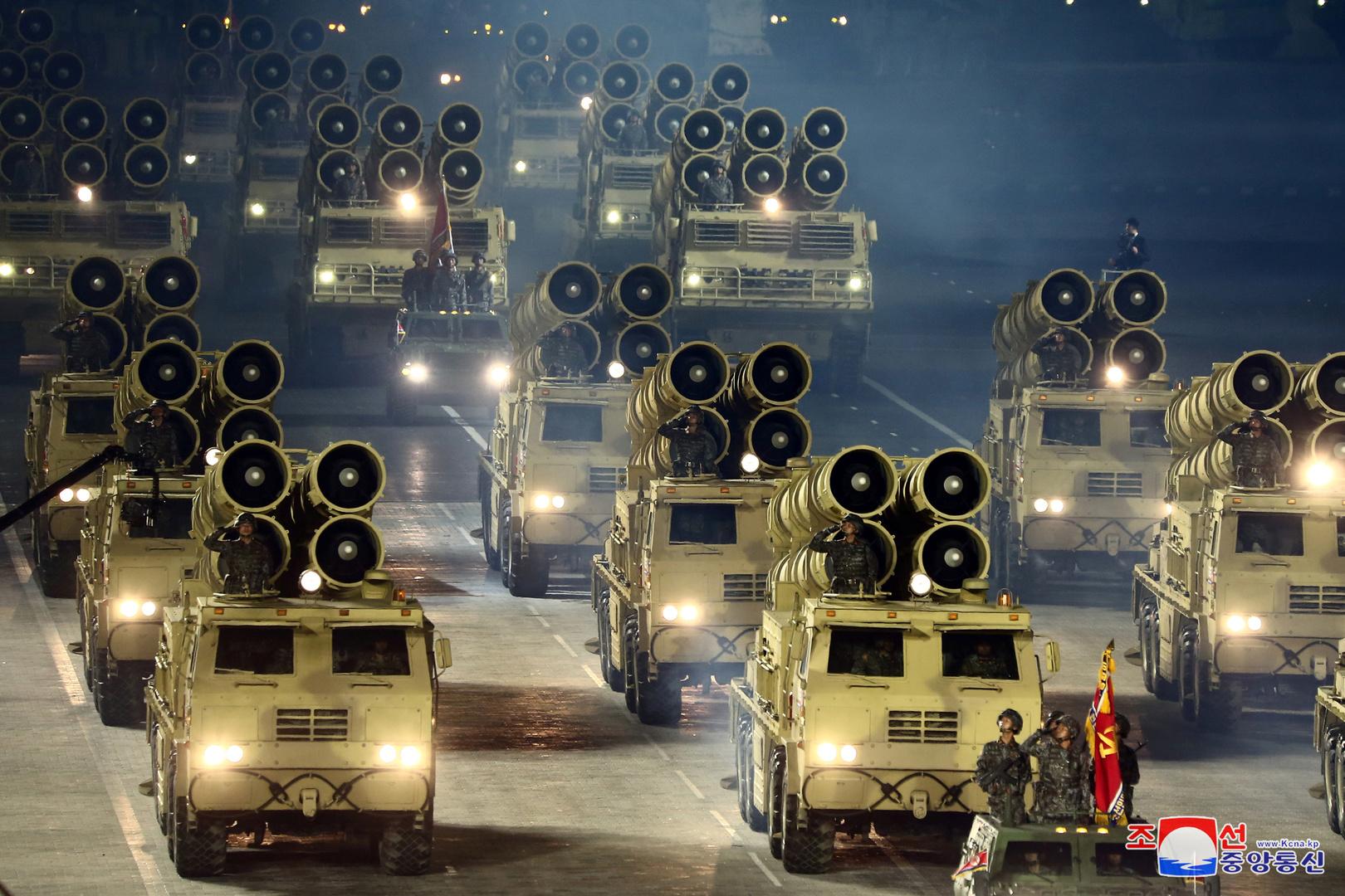 مصدر حكومي كوري جنوبي: يبدو أن كوريا الشمالية تقيم حاليا عرضا عسكريا