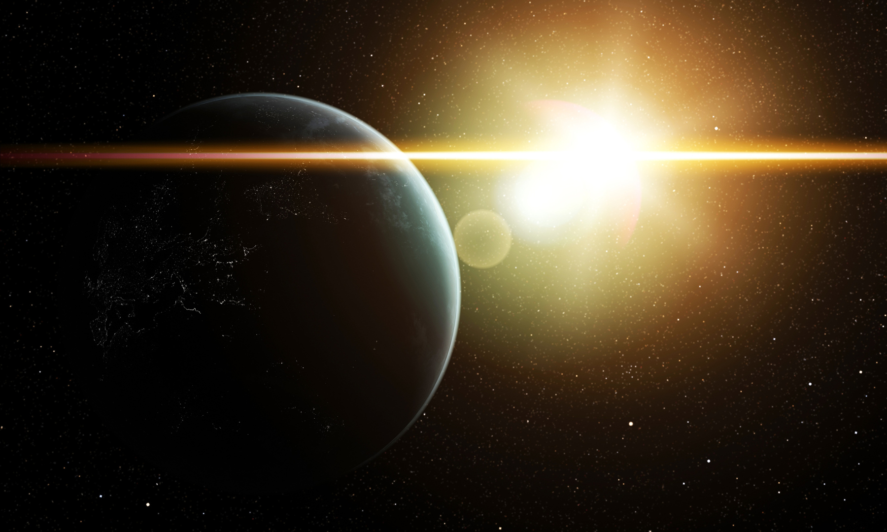 New European Space Agency study: the solar wind prefers to hit the North Pole