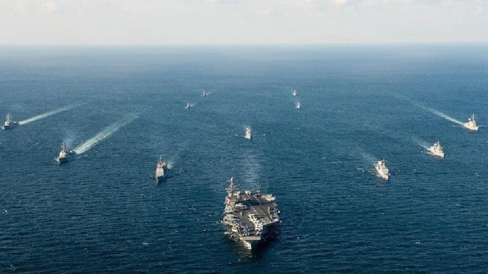 القطعات البحرية الأمريكية في بحر الصين الجنوبي - أرشيف