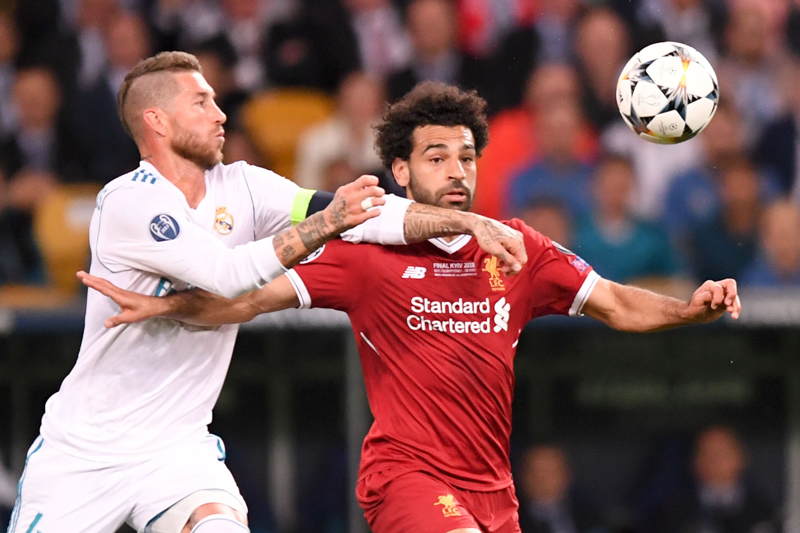 Salah stands in the way of Ramos joining Liverpool