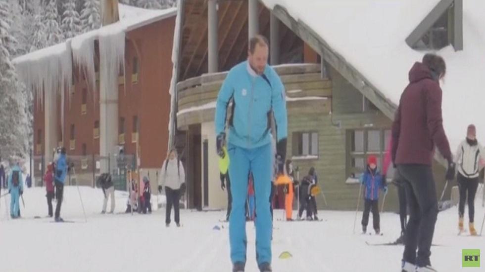 نمو شعبية التزلج في فرنسا رغم الإغلاق