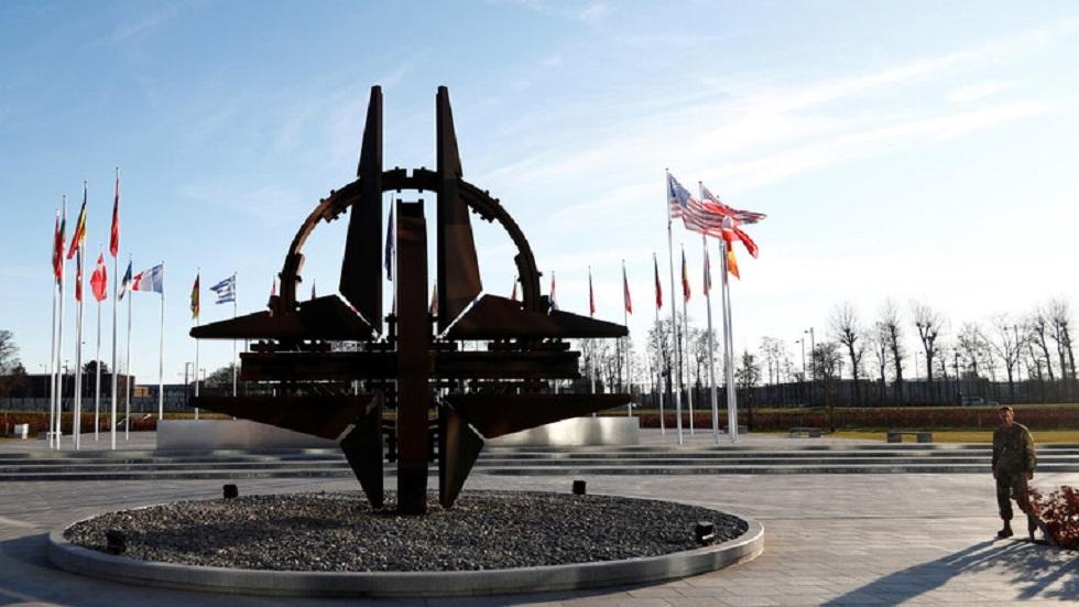 المقر الرئيسي لحلف شمال الأطلسي في بروكسل ببلجيكا - أرشيف