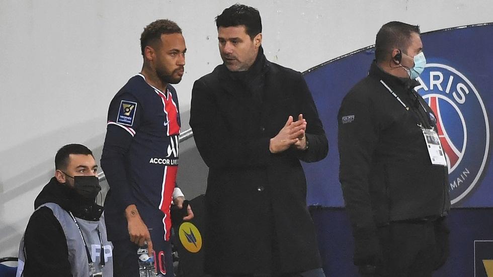 إصابة مدرب باريس سان جيرمان بفيروس كورونا