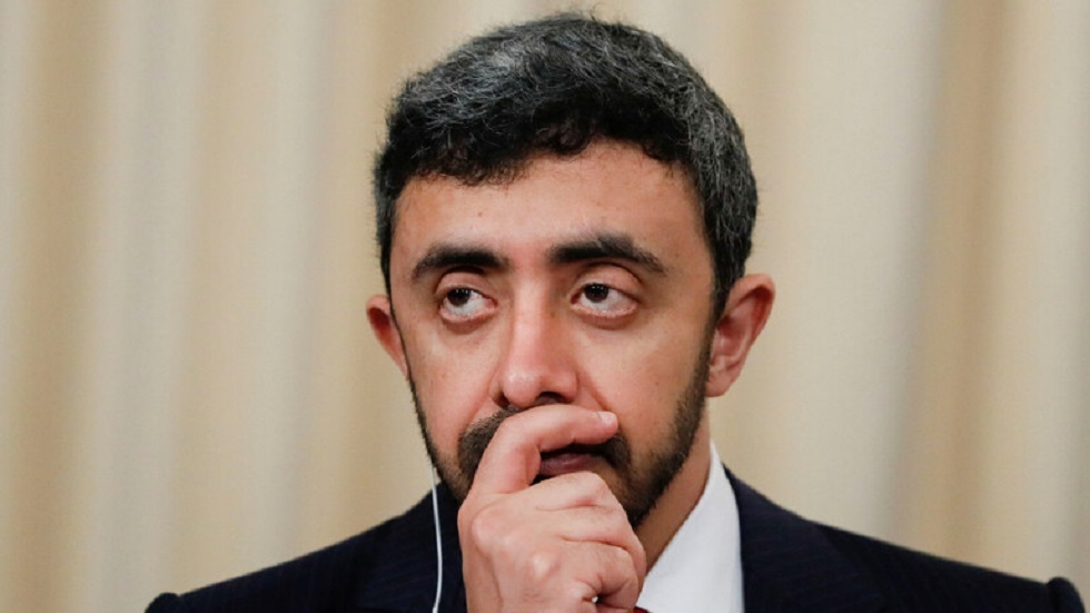 عبد الله بن زايد: نجدد دعمنا للمغرب في سيادته الكاملة على منطقة الصحراء