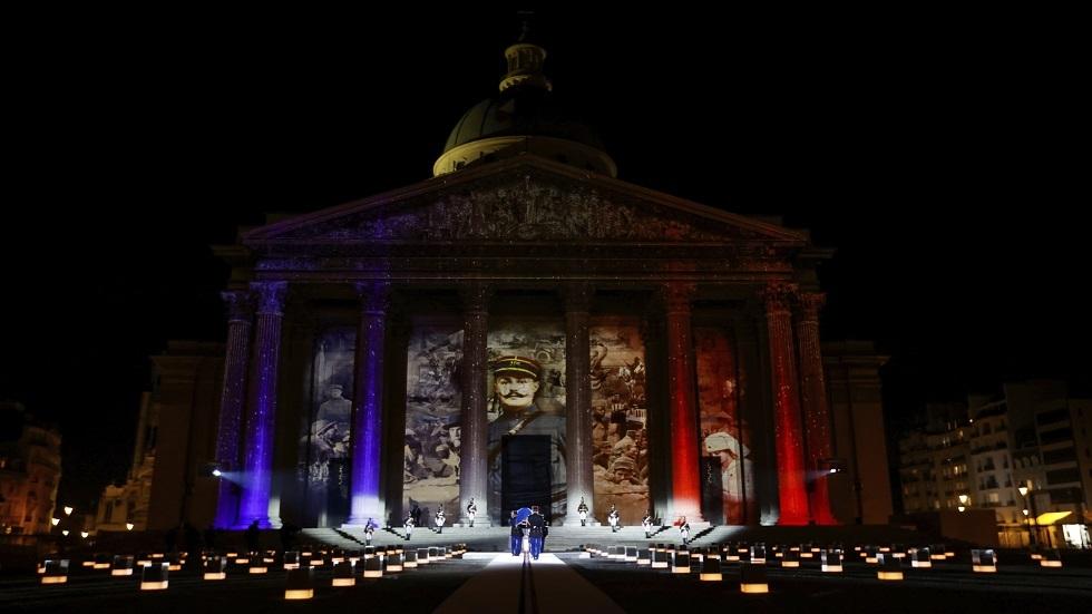 مقبرة العظماء في باريس بفرنسا - أرشيف