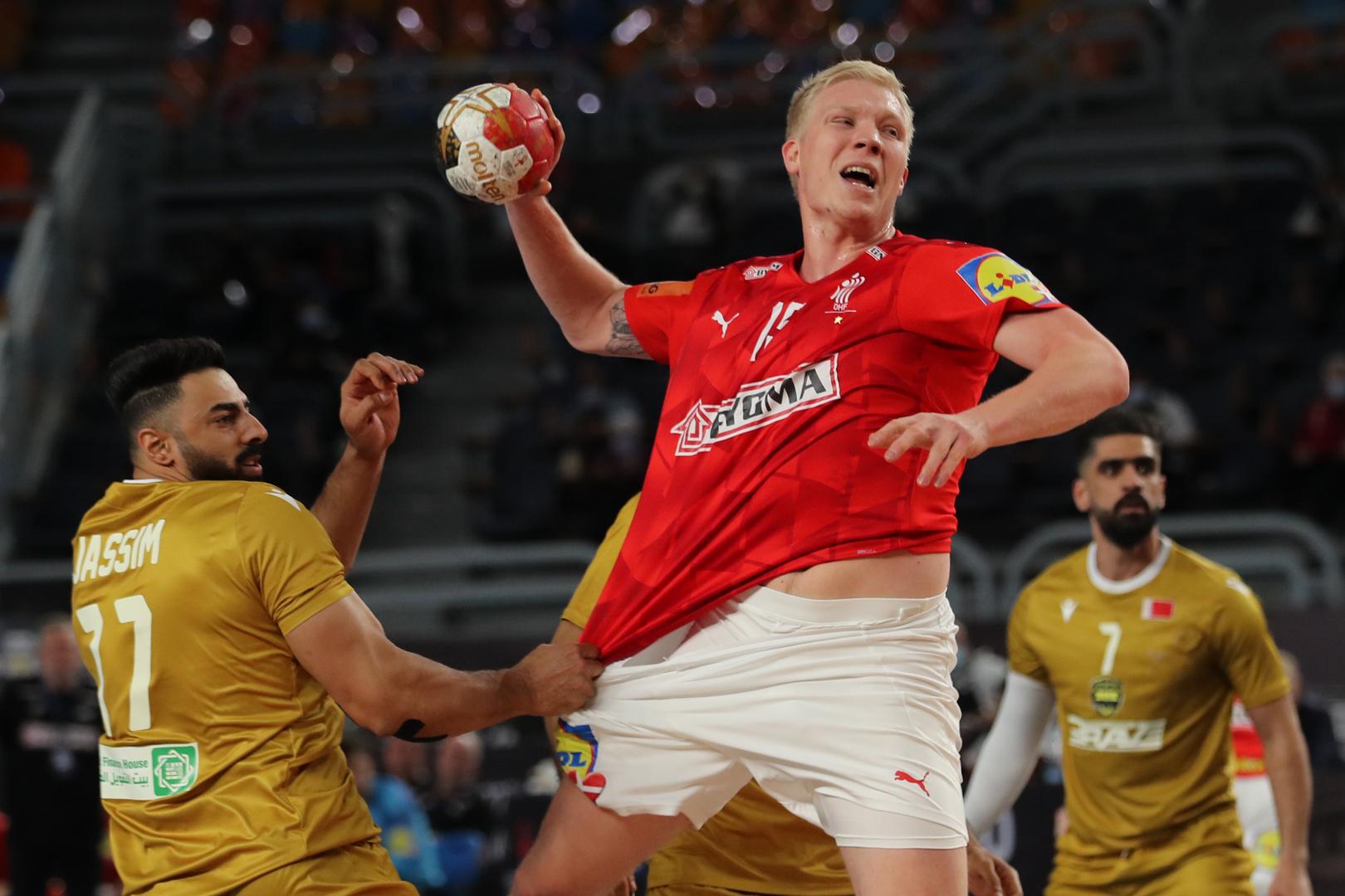 Corona's first case in the Handball World Cup