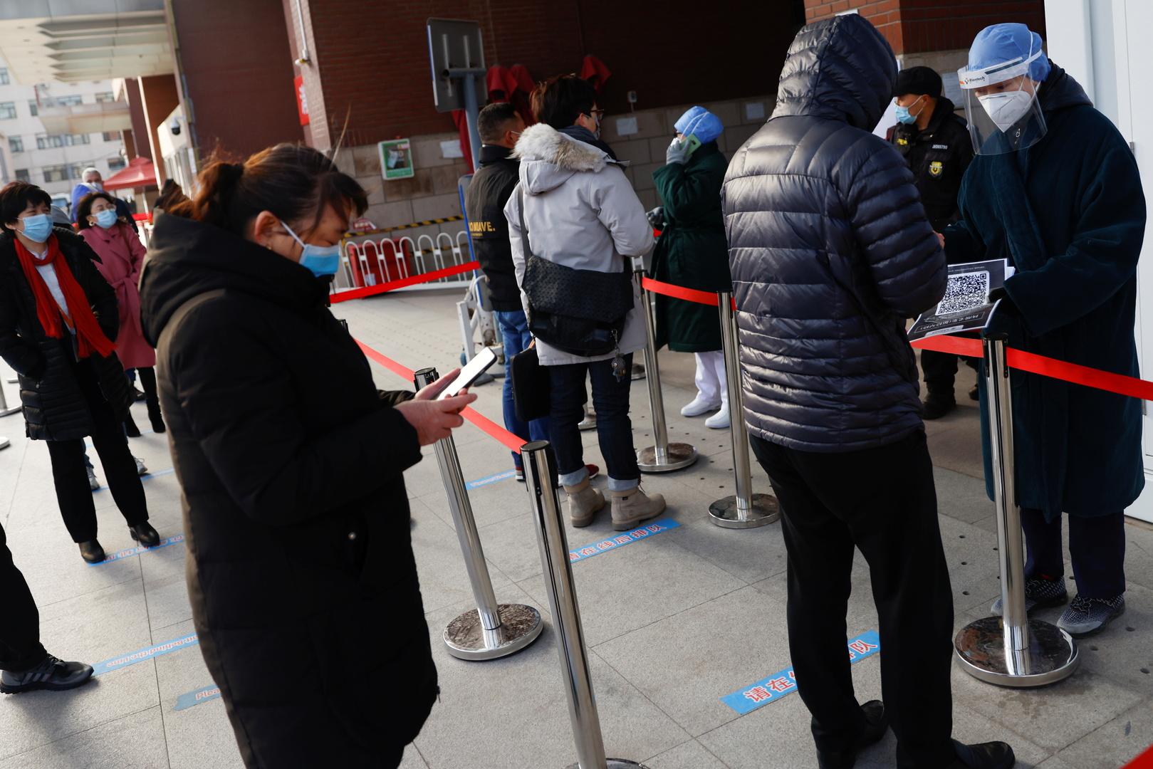 الصين: تفشي كورونا الأخير في البلاد ناتج عن إصابات واردة من الخارج