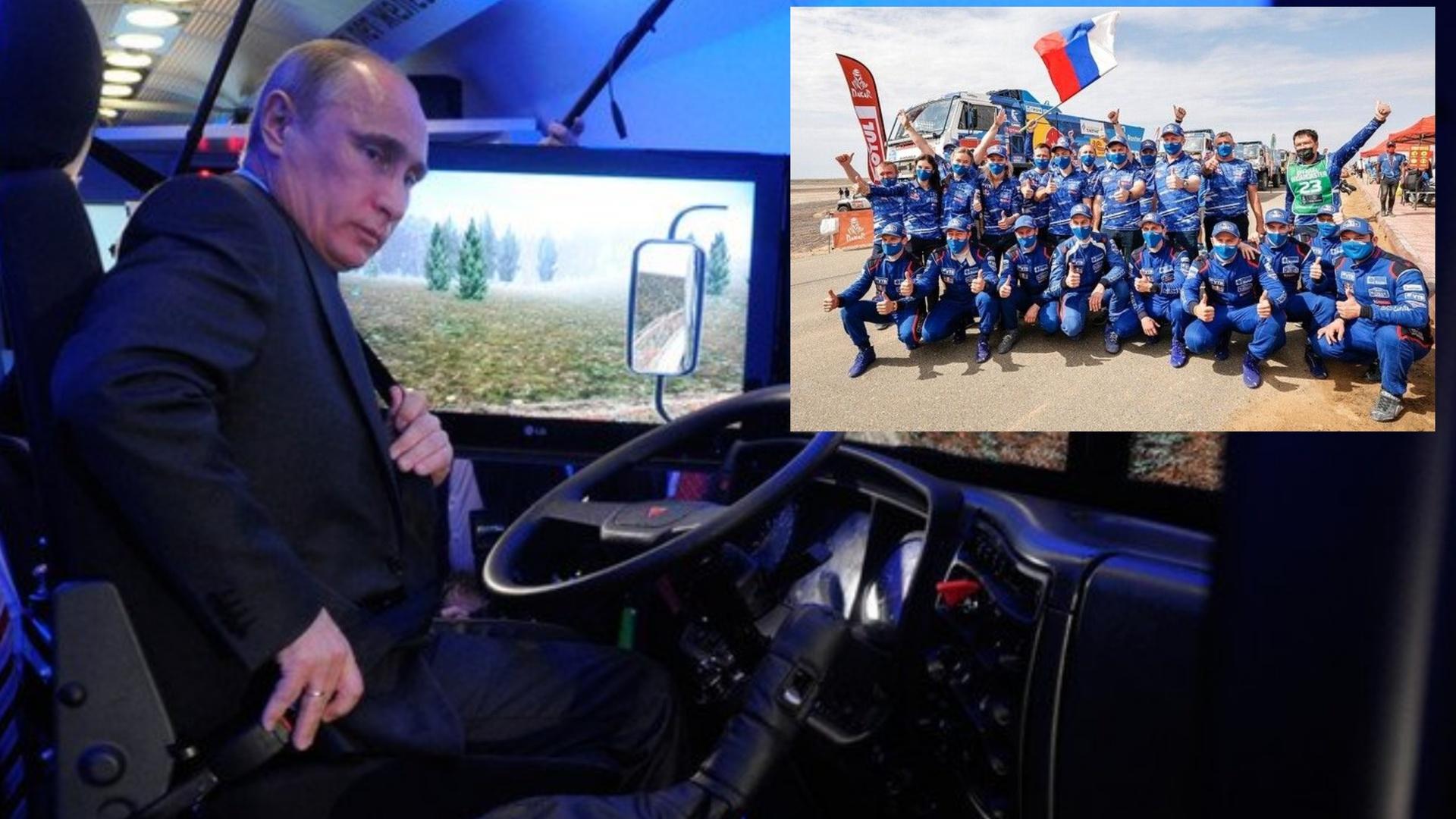 بوتين يهنئ طاقم