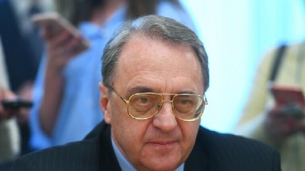 بوغدانوف يلتقي الممثل الشخصي لرئيس مجلس النواب الليبي