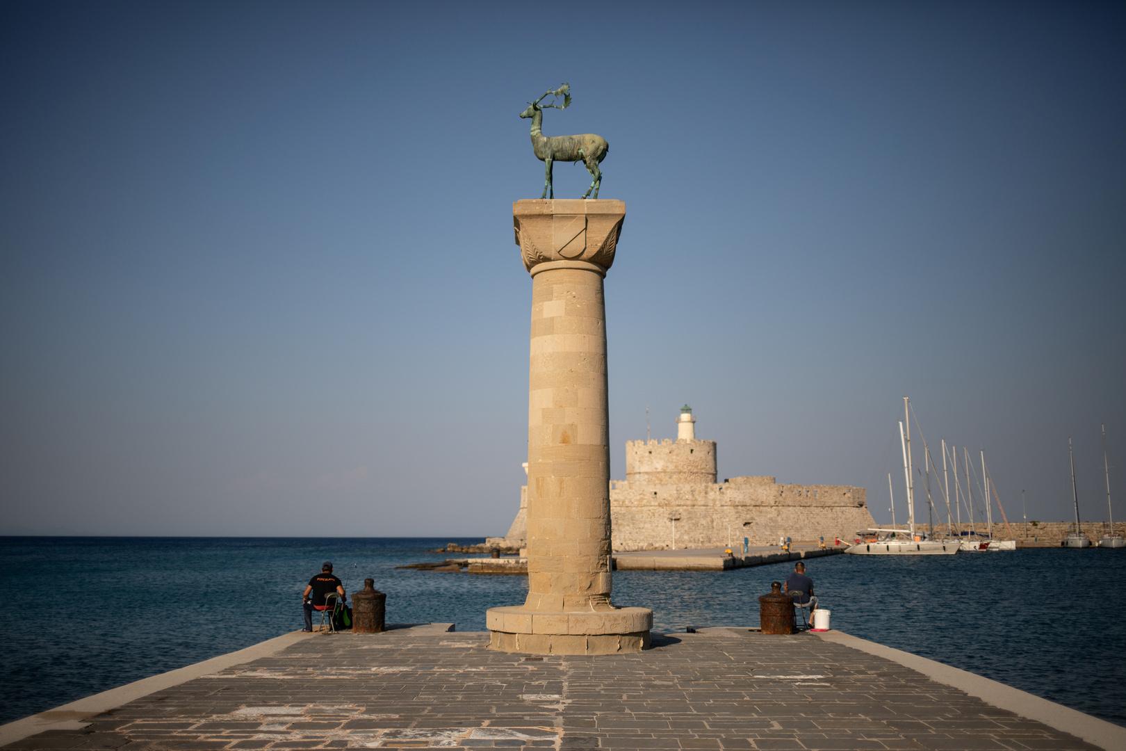 جزيرة رودوس اليونانية.