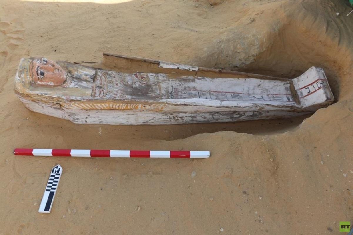 مصر تعلن عن اكتشافات أثرية تعود إلى الدولة الحديثة 3000 ق.م (صور)