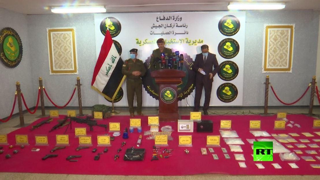 بالفيديو.. ضبط سبعة كيلوغرامات من الميثامفيتامين واعتقال 20 عضوا في شبكة إجرامية في بغداد