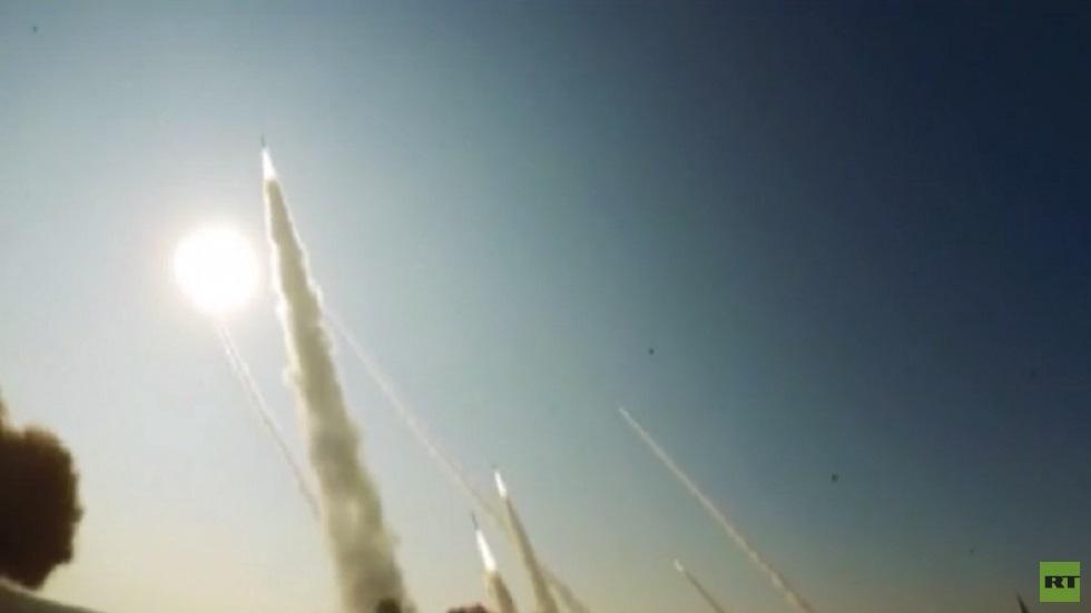تدريبات إيرانية بالصواريخ الباليستية