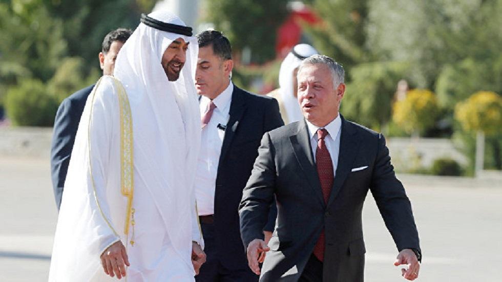 ولي عهد أبوظبي يبحث مع ملك الأردن تعزيز العلاقات الثنائية في مختلف المجالات