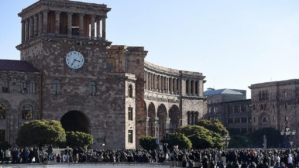 مقر البرلمان الأرمني في يريفان - أرشيف
