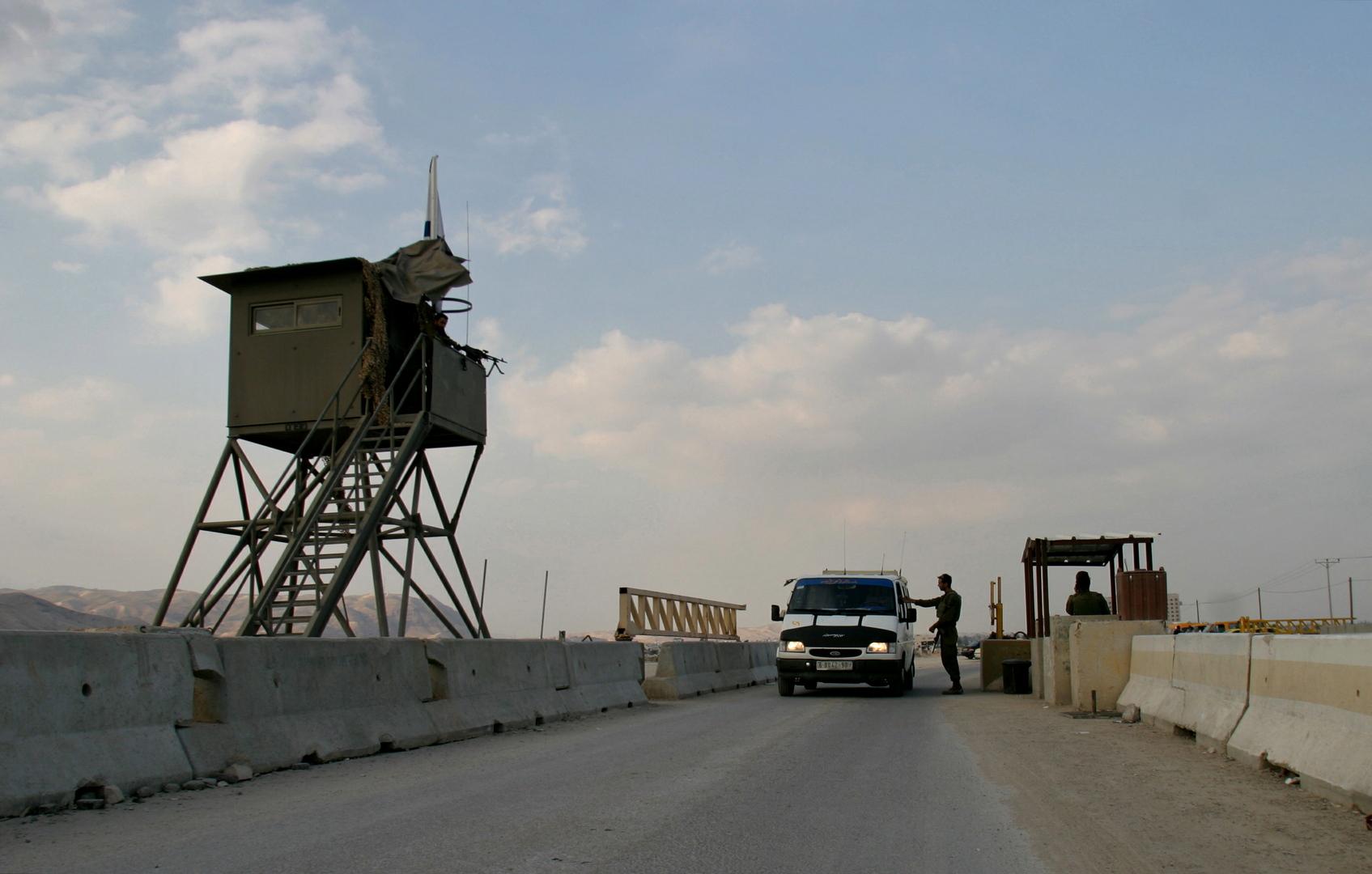 حاجز إسرائيلي في الضفة الغربية، صورة تعبيرية من الأرشيف