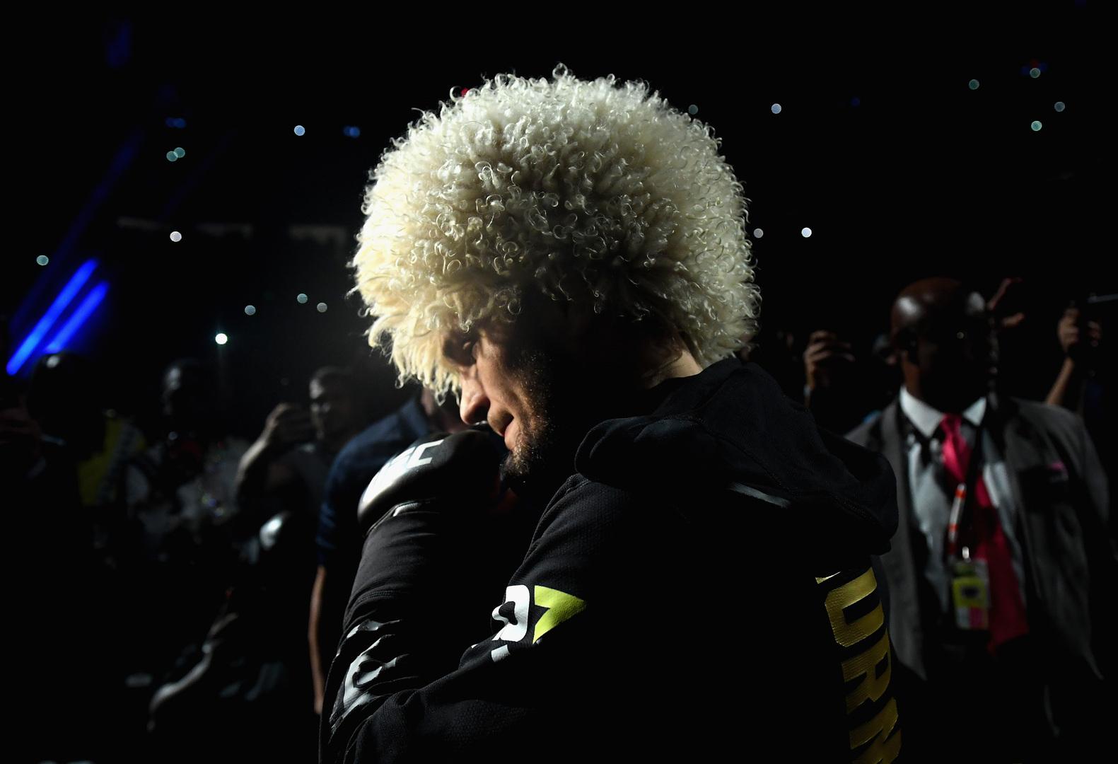 عودة حبيب لحلبة القتال مرهونة بليلة UFC 257