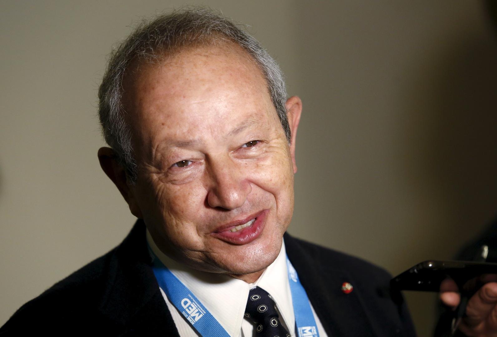 رجل الأعمال المصري، نجيب ساوريس