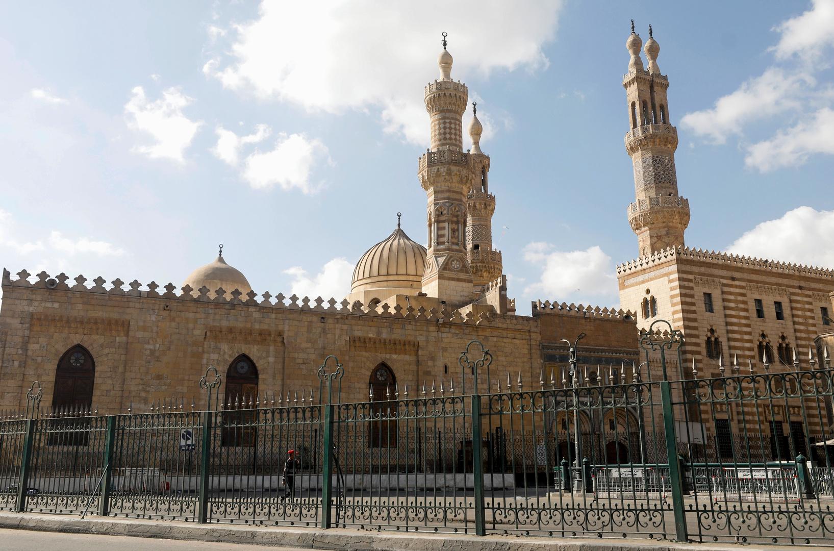 مسجد الأزهر في العاصمة المصرية القاهرة