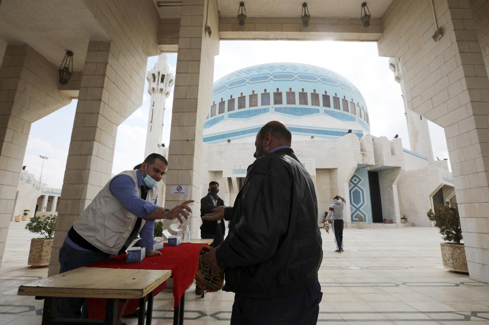 جامع المللك عبد الله في العاصمة الأردنية عمان.