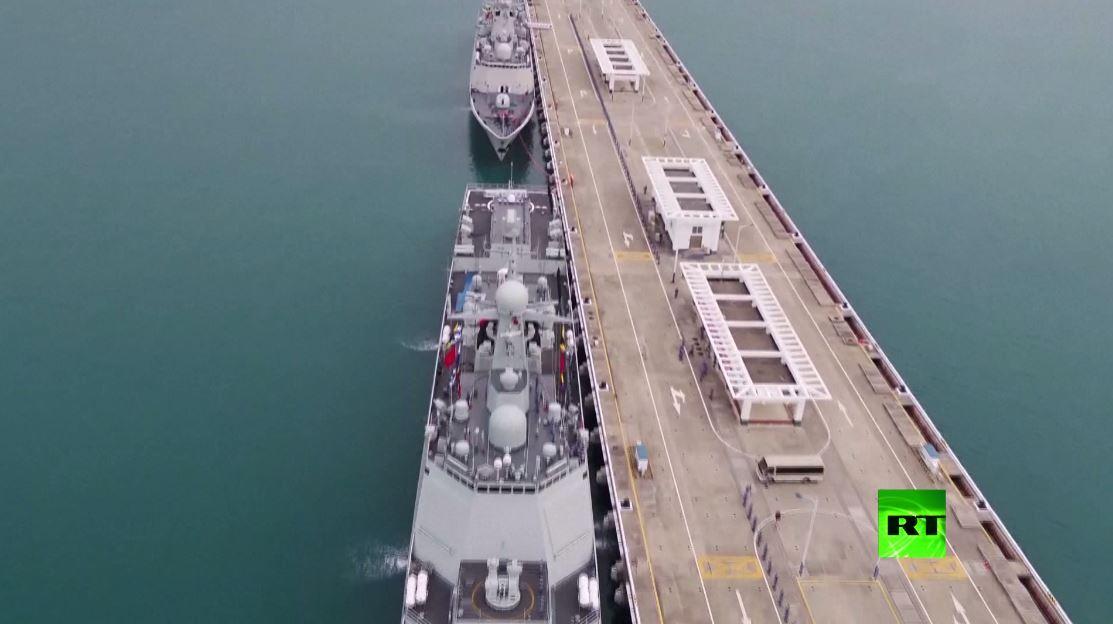 بالفيديو.. الصين ترسل أسطولا بحريا جديدا لأداء مهمة في خليج عدن