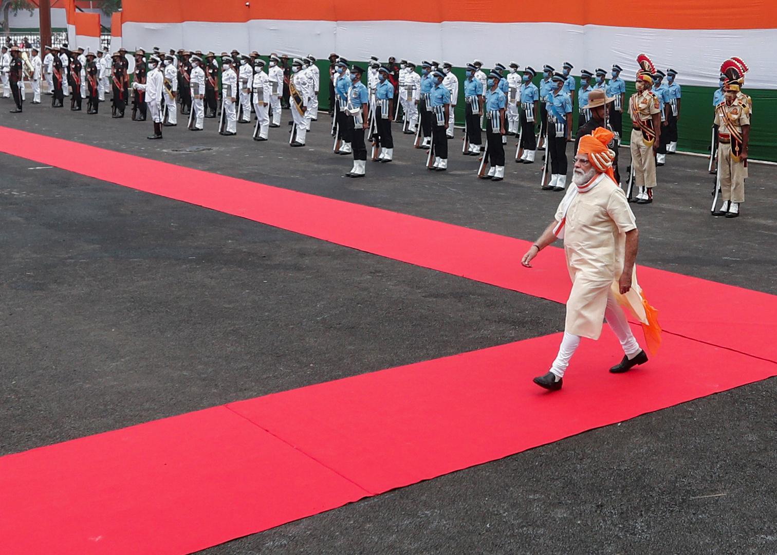 رئيس الوزراء الهندي ناريندرا مودي.