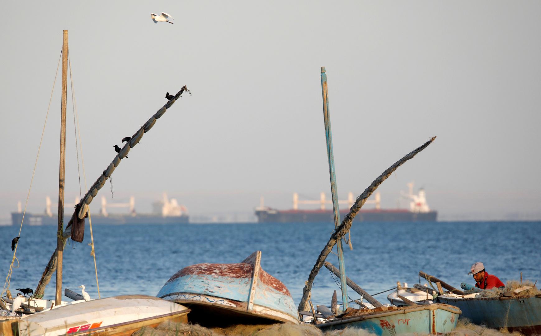 مصر تغلق ميناءين على المتوسط لسوء الأحوال الجوية