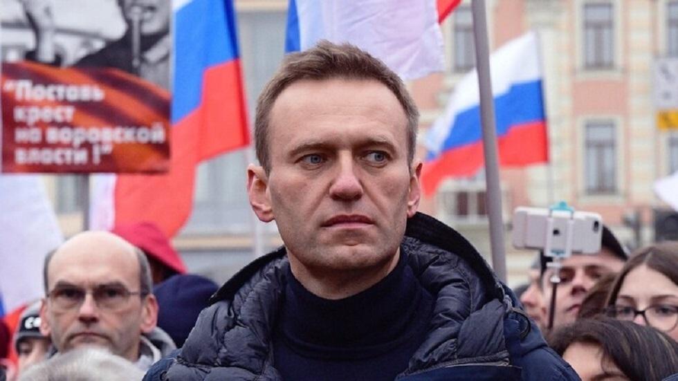 توقيف المعارض أليكسي نافالني فور وصوله إلى موسكو