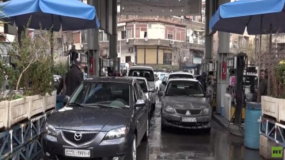 أزمة تأمين الوقود تعود إلى العاصمة السورية