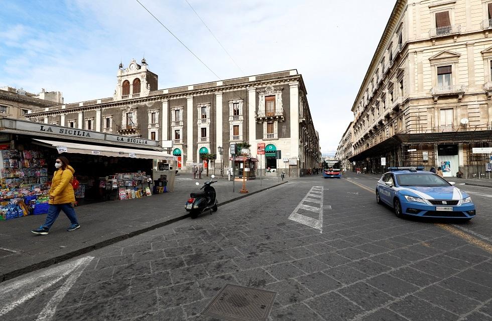 إيطاليا.. 377 وفاة و12415 إصابة جديدة بكورونا