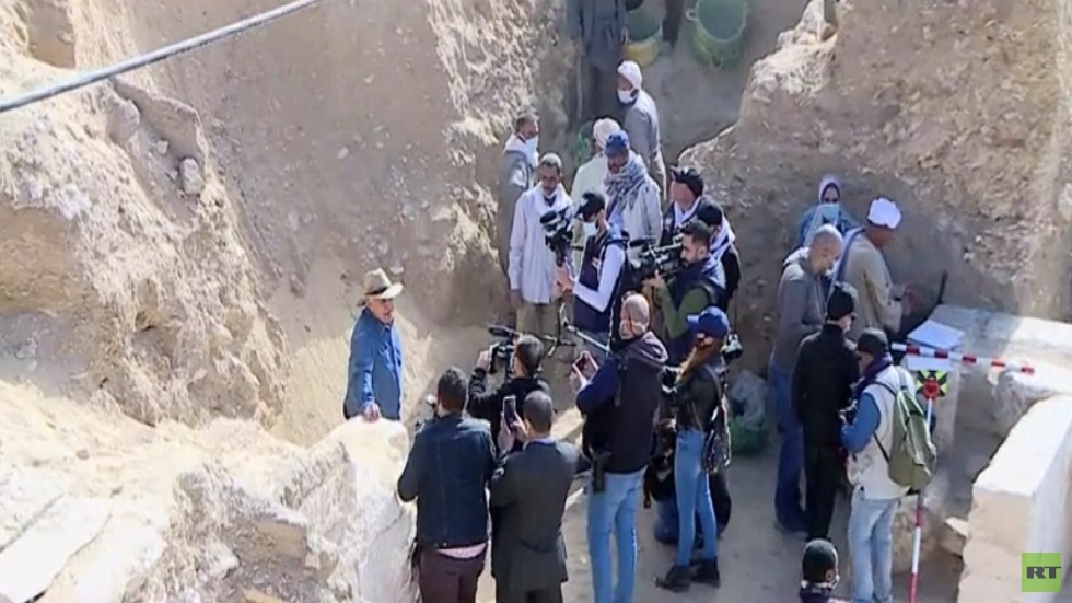 كشف أثري جديد في سقار ة بالجيزة لمعبد وآبار