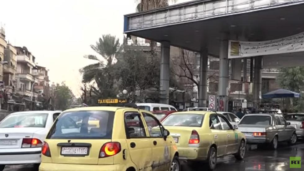 أزمة الوقود في سوريا بسبب العقوبات