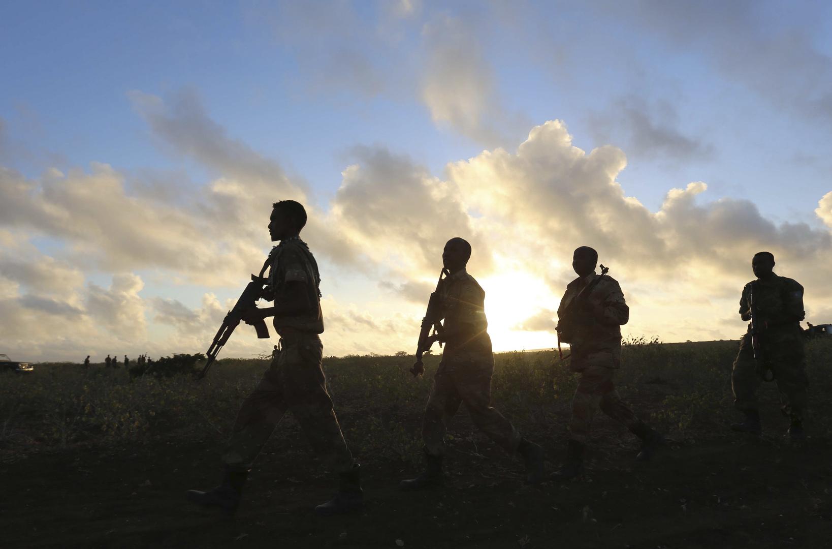 عسكريون صوماليون تدربهم قوات أمريكية، أرشيف